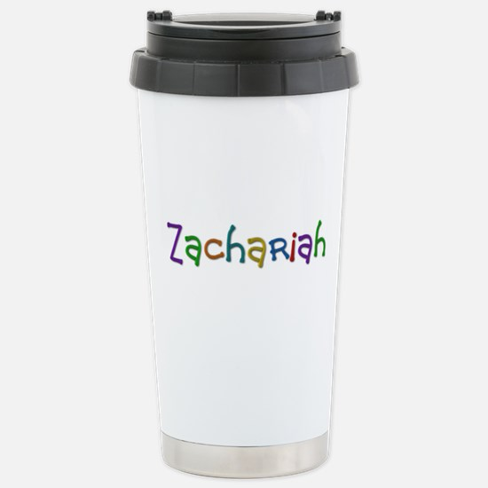 Zachariah Play Clay Stainless Steel Travel Mug