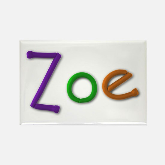 Zoe Play Clay Rectangle Magnet
