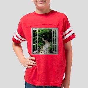 Tropical Paradise Youth Football Shirt