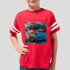 Parrotfish V Youth Football Shirt