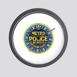 Nashville Police Wall Clock