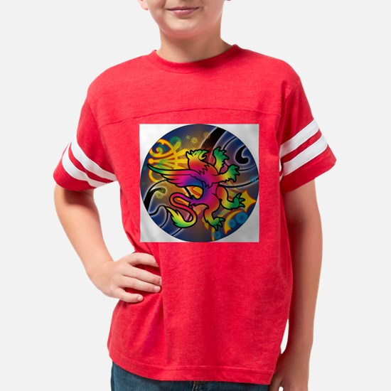 PSCHEDELIC-GRIFFON-3-INCH-BUT Youth Football Shirt