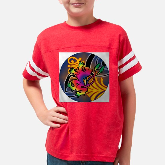 REGAL-PSYCHEDELIC-3-INCH-BUTT Youth Football Shirt