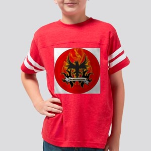 we-will-overcome-3-inch-butto Youth Football Shirt