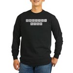 Monogram English Long Sleeve Dark T-Shirt