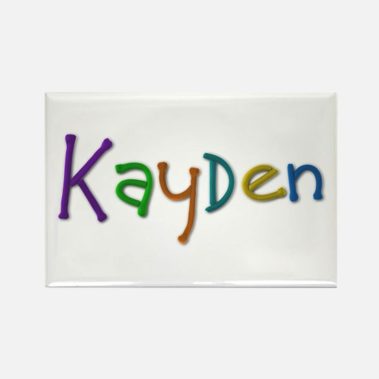 Kayden Play Clay Rectangle Magnet