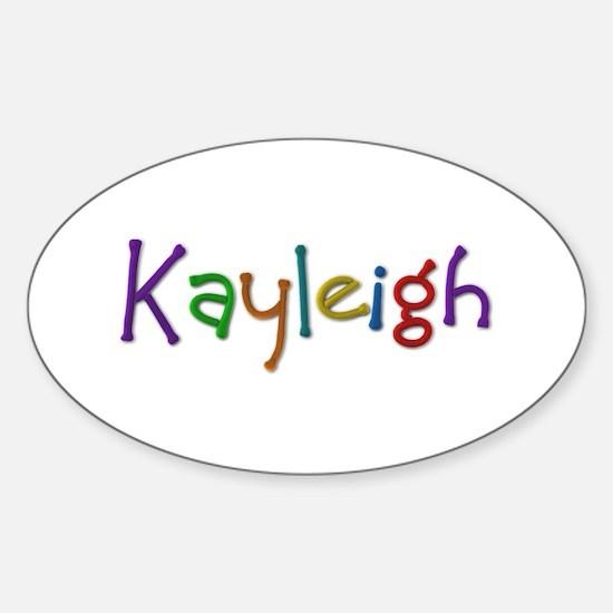 Kayleigh Play Clay Oval Decal