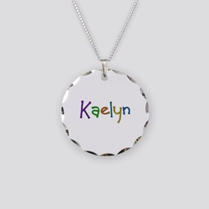 Kaelyn Play Clay Necklace Circle Charm