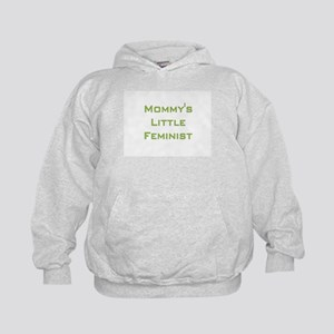 Mommy's Little Feminist Kids Hoodie