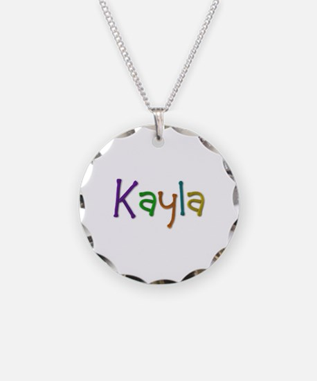 Kayla Play Clay Necklace