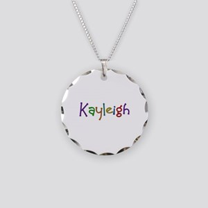 Kayleigh Play Clay Necklace Circle Charm