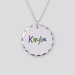 Kaylie Play Clay Necklace Circle Charm
