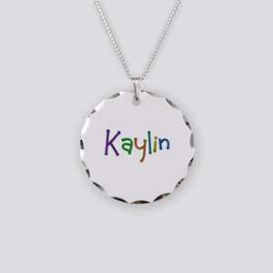 Kaylin Play Clay Necklace Circle Charm
