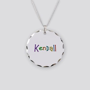Kendall Play Clay Necklace Circle Charm