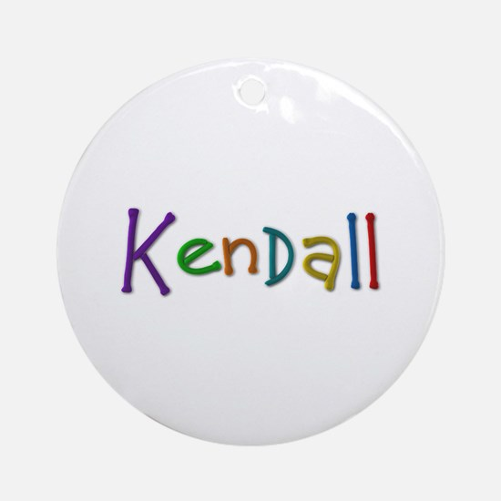 Kendall Play Clay Round Ornament