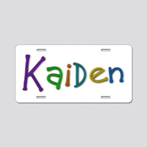 Kaiden Play Clay Aluminum License Plate