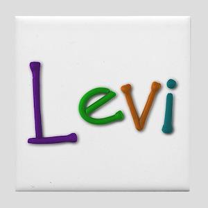 Levi Play Clay Tile Coaster
