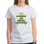 I Support My Granddaughter Women's T-Shirt