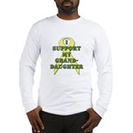 I Support My Granddaughter Long Sleeve T-Shirt