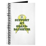 I Support My Granddaughter Journal