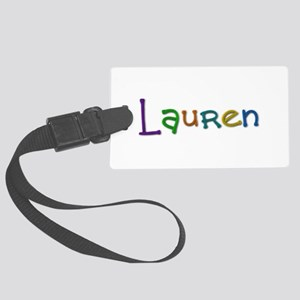 Lauren Play Clay Large Luggage Tag