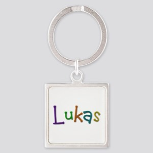 Lukas Play Clay Square Keychain
