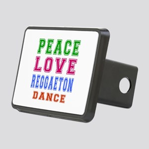 Peace Love Reggaeton Dance Designs Rectangular Hit