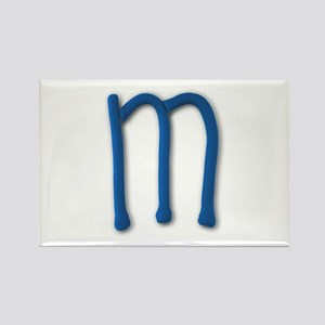 M Play Clay Rectangle Magnet