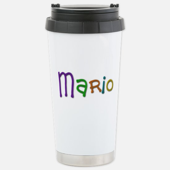 Mario Play Clay Stainless Steel Travel Mug