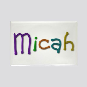 Micah Play Clay Rectangle Magnet