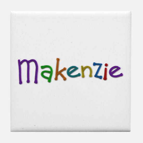 Makenzie Play Clay Tile Coaster