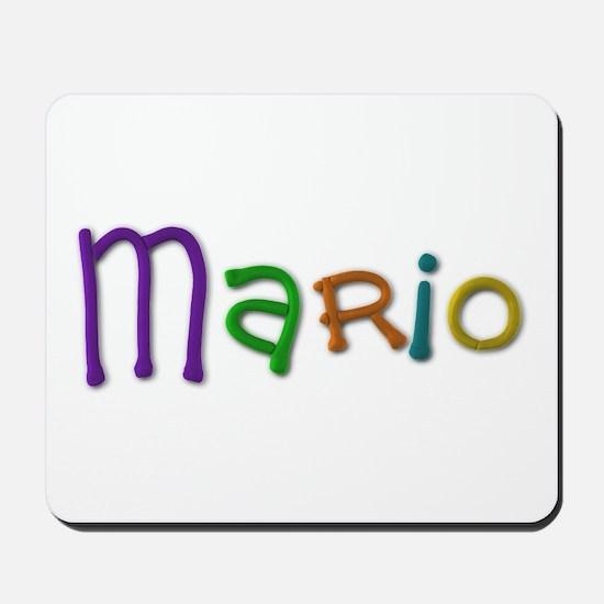 Mario Play Clay Mousepad