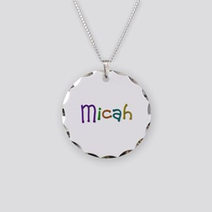 Micah Play Clay Necklace Circle Charm