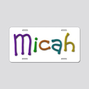 Micah Play Clay Aluminum License Plate