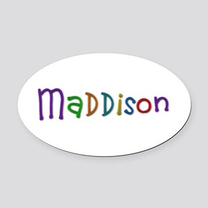 Maddison Play Clay Oval Car Magnet