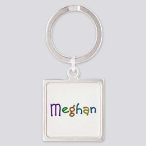 Meghan Play Clay Square Keychain