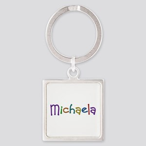 Michaela Play Clay Square Keychain