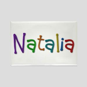 Natalia Play Clay Rectangle Magnet