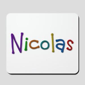 Nicolas Play Clay Mousepad