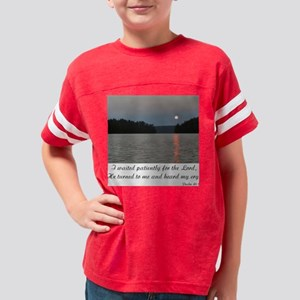 Sunset/I Waited for the Lord  Youth Football Shirt