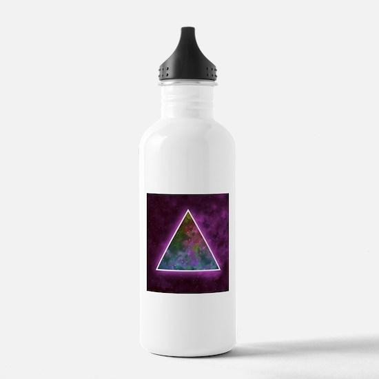 Space Nebulous Triangl Water Bottle