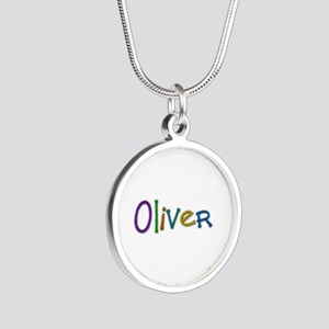 Oliver Play Clay Silver Round Necklace