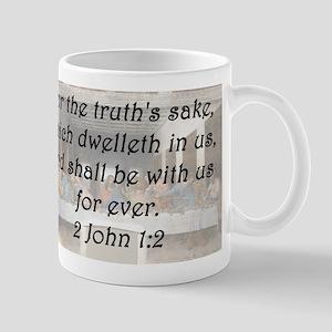 2 John 1-2 Mug
