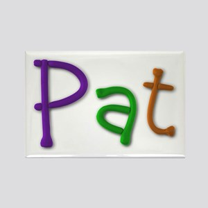 Pat Play Clay Rectangle Magnet