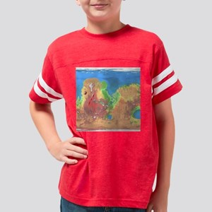 Modified Mars map on a queen  Youth Football Shirt