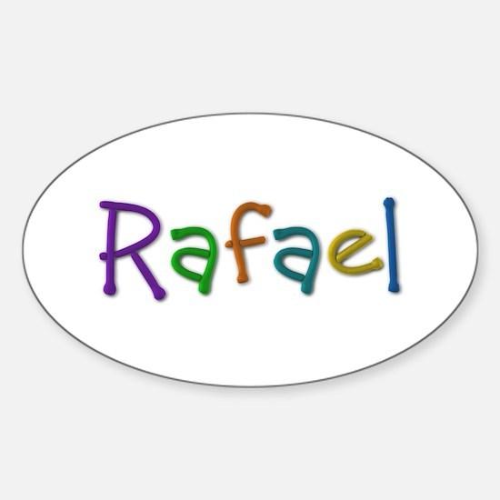 Rafael Play Clay Oval Decal