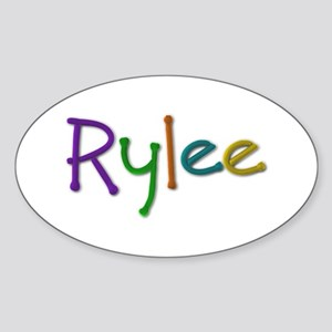 Rylee Play Clay Oval Sticker