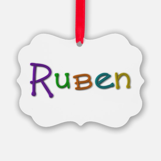 Ruben Play Clay Ornament