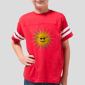 2-yellow sun Youth Football Shirt