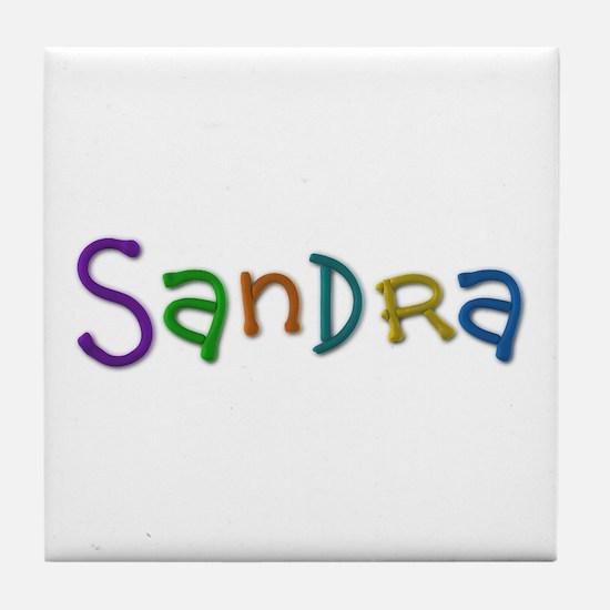 Sandra Play Clay Tile Coaster